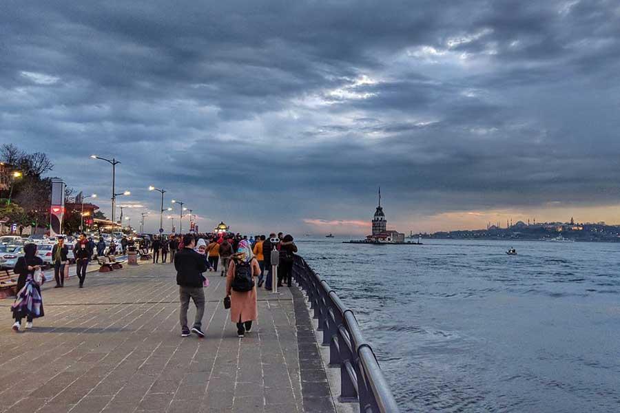 Istanbul Üsküdar Evening
